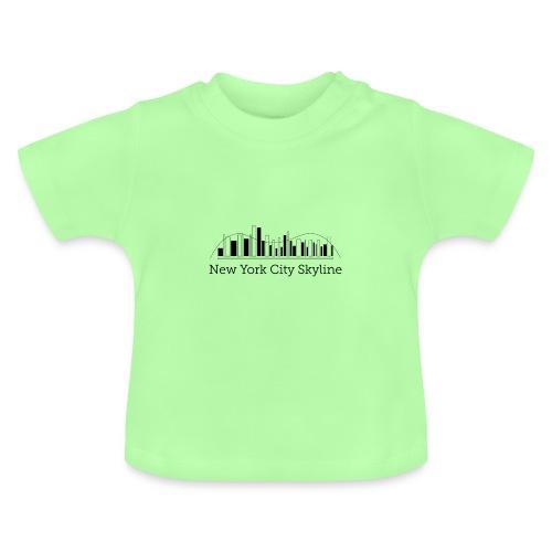ny skyline - Baby T-shirt