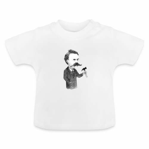 Friedrich Nietzsche - Camiseta bebé