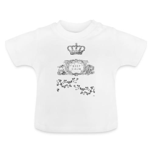 keep calm and kiss me - Camiseta bebé