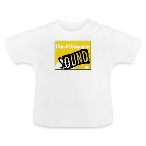 I am a woman in sound - yellow - Baby T-Shirt
