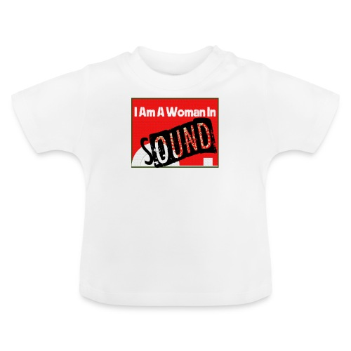 I am a woman in sound - red - Baby T-Shirt