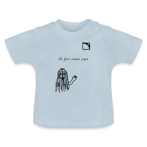 Comme papa L'Acoustics - T-shirt Bébé