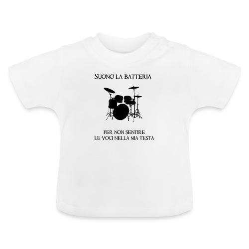 Batterista - Maglietta per neonato