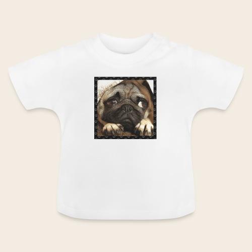 Mops Hund 1 - Baby T-Shirt