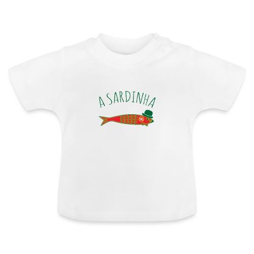 A Sardinha - Bandeira - T-shirt Bébé