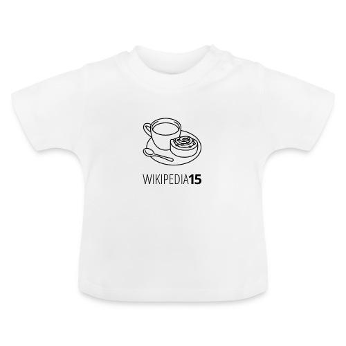 Fika, figursydd, vit - Baby-T-shirt