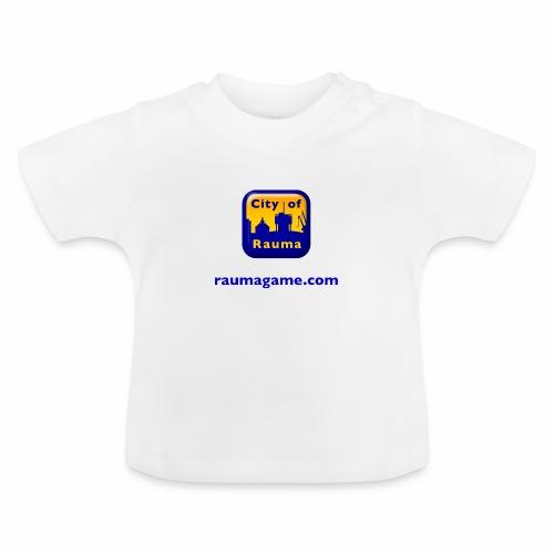 Raumagame logo - Vauvan t-paita