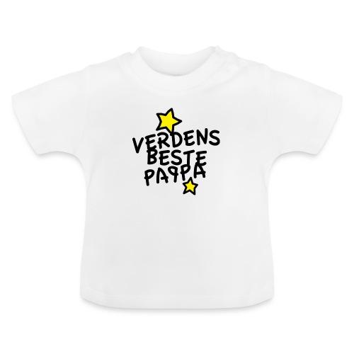 Verdens beste pappa - Baby-T-skjorte