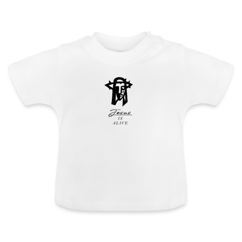 Jesus lebt - Jesus is alive Christliches Tshirt - Baby T-Shirt