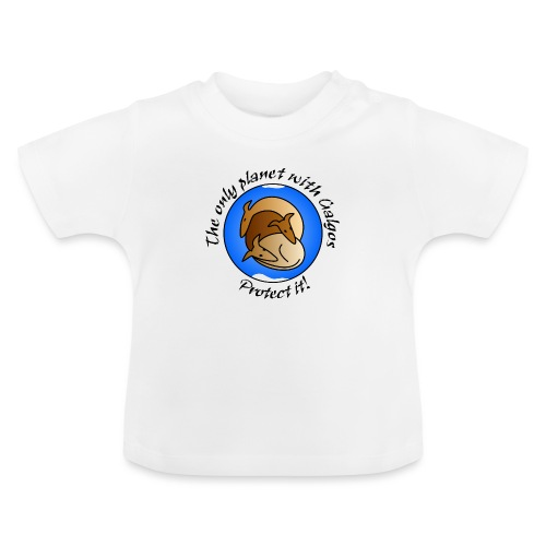 The only planet with Galgos - Baby T-Shirt