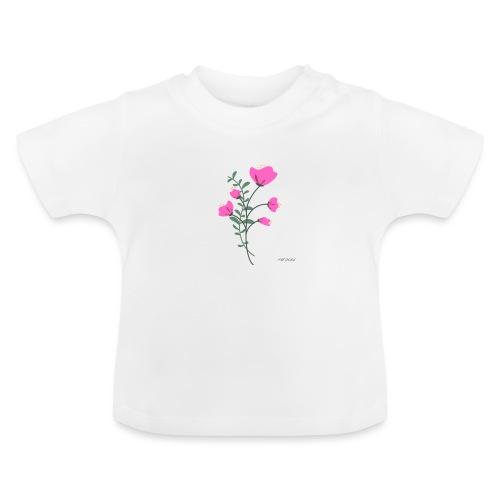 fleure violette - T-shirt Bébé