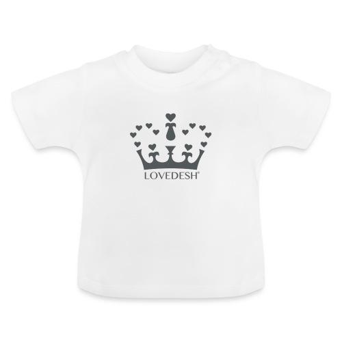 LD crown logo hearts png - Baby T-Shirt