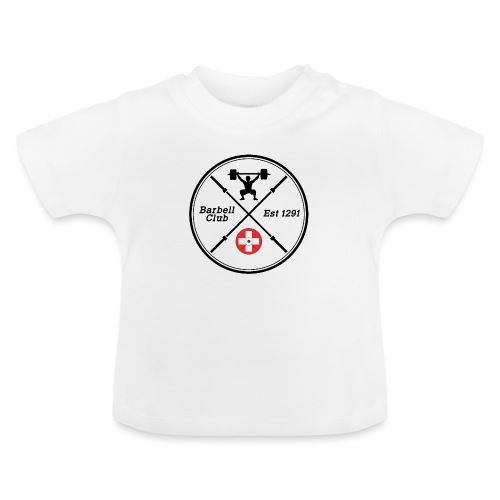 Barbell Club Deluxe_ black - Baby T-Shirt