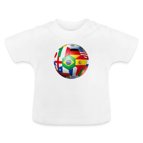 Brasil Bola - Baby T-Shirt