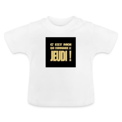 badgejeudi - T-shirt Bébé