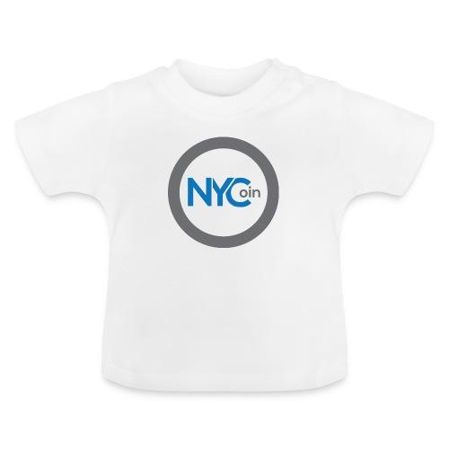 NewYorkCoin Merchandise with Community Logo - Baby-T-skjorte