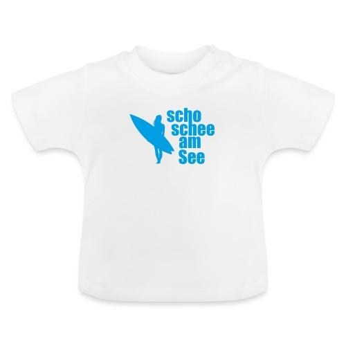 scho schee am See Surferin 03 - Baby T-Shirt