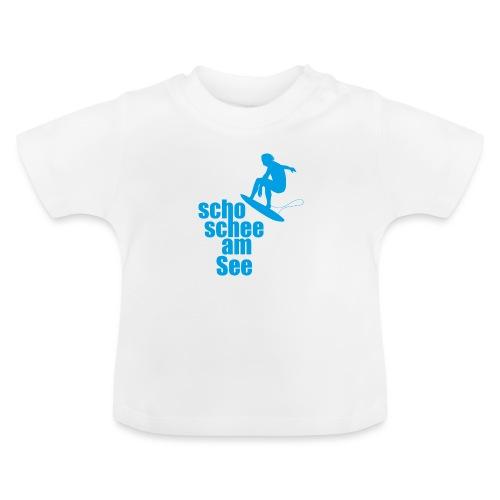 scho schee am See Surfer 01 - Baby T-Shirt