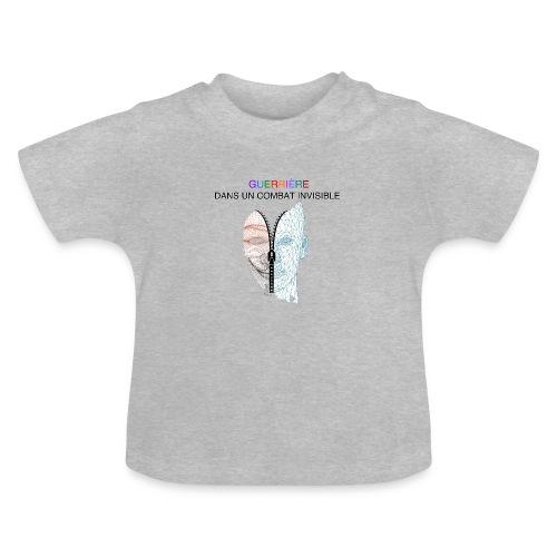Guerrière dans un combat invisible 02 - T-shirt Bébé