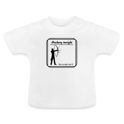 Archery tonight - Vauvan t-paita