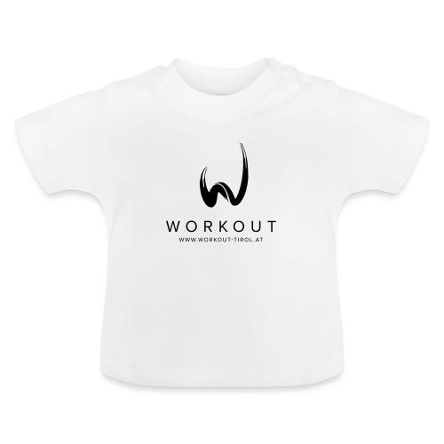 Workout mit Url - Baby T-Shirt