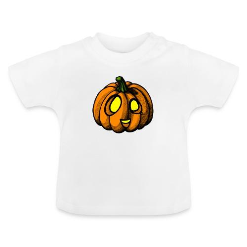 Pumpkin Halloween scribblesirii - Baby T-Shirt