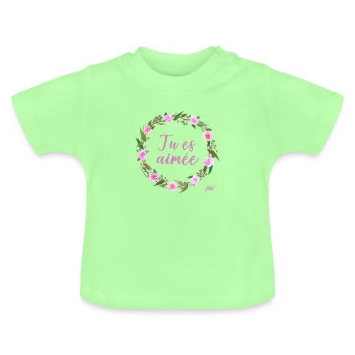 COURONNE4TUesaimeeb - T-shirt Bébé