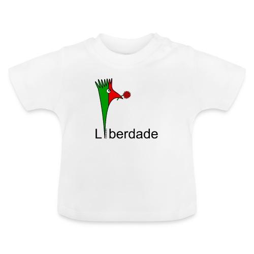 Galoloco - Liberdaded - 25 Abril - T-shirt Bébé
