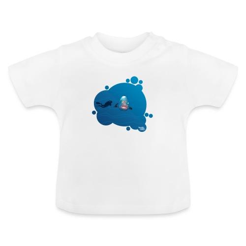 Gros poisson fou - T-shirt Bébé