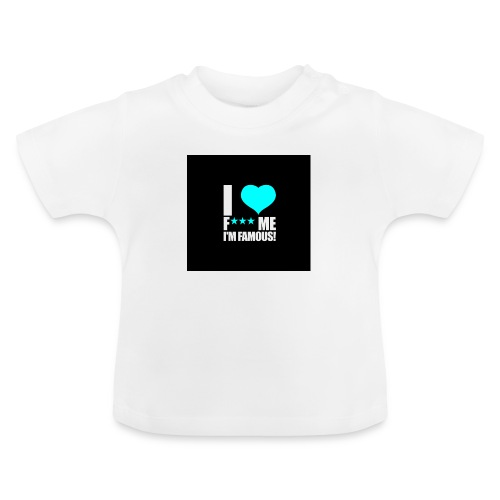 I Love FMIF Badge - T-shirt Bébé