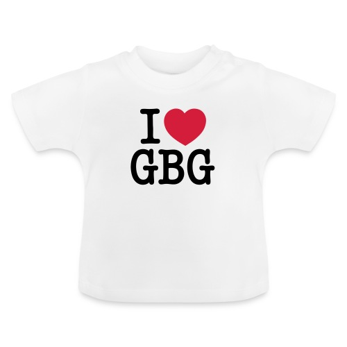 I love GBG - Baby-T-shirt