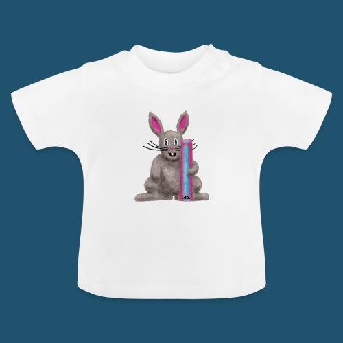 Sötnos med kakpaket - Baby-T-shirt