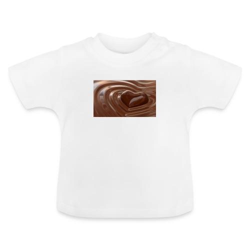 Choklad T-shirt - Baby-T-shirt