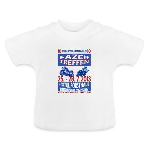 ift10logo blau korr - Baby T-Shirt