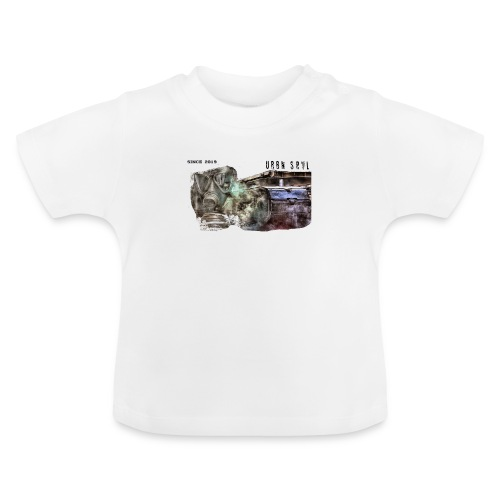 gas mask 2 black - Baby T-Shirt