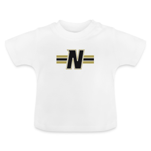 Nordic Steel Black N with stripes - Baby T-Shirt