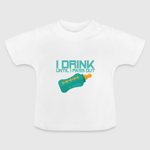 IDRINK png - Baby T-shirt
