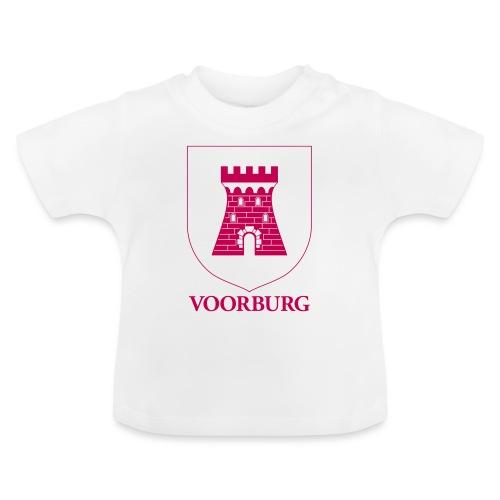 Voorburg wapen lijn - Baby T-shirt