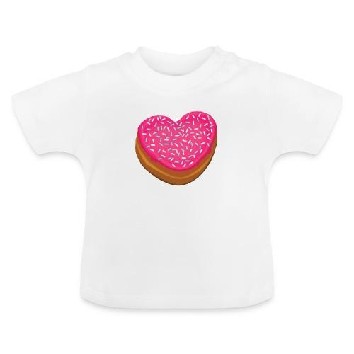 Donitsi - donut - Vauvan t-paita