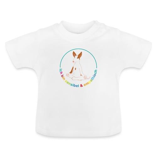 Ich bin sensibel & empathisch (Amigo bunt) - Baby T-Shirt