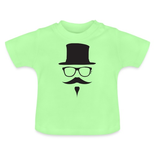 Moustachu Black (H) - T-shirt Bébé
