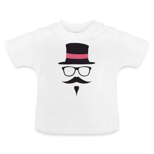 Moustachu Rose (H) - T-shirt Bébé