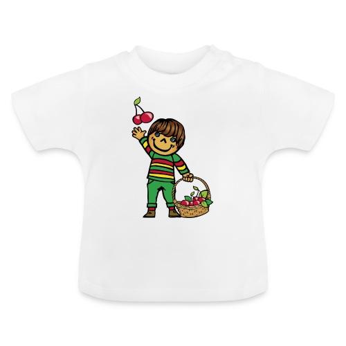 07 kinder kapuzenpullover hinten - Baby T-Shirt