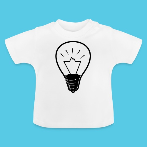glühende Berge - Baby T-Shirt