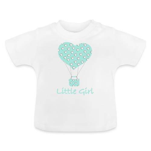 Little Girl in mongolfiera - Maglietta per neonato