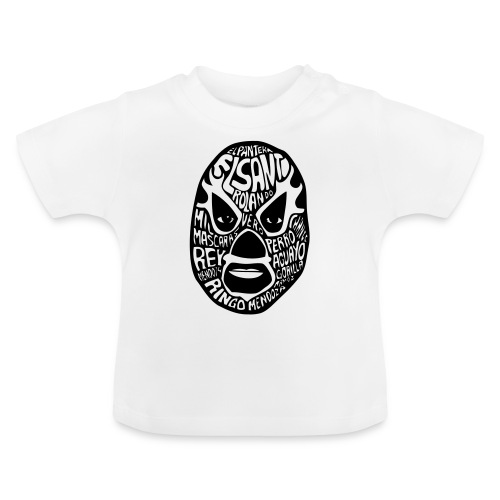 luchador mask2 - Baby T-shirt