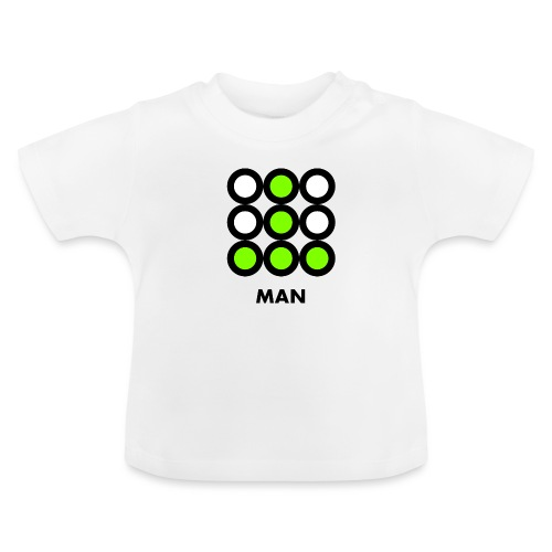 Man - Maglietta per neonato