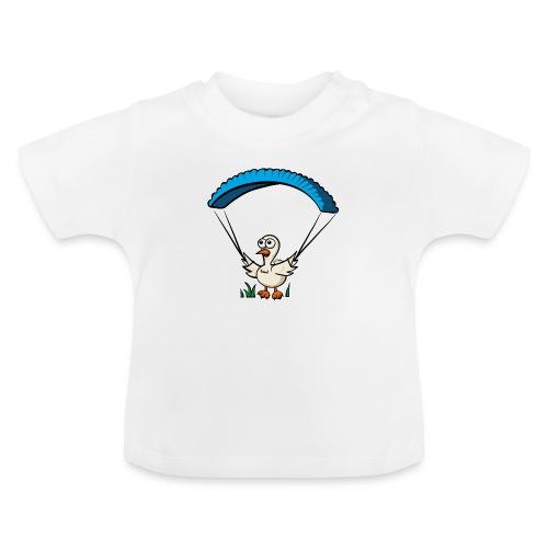 Groundhendl Groundhandling Hendl Paragliding Huhn - Baby T-Shirt