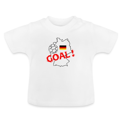 football allemagne - T-shirt Bébé