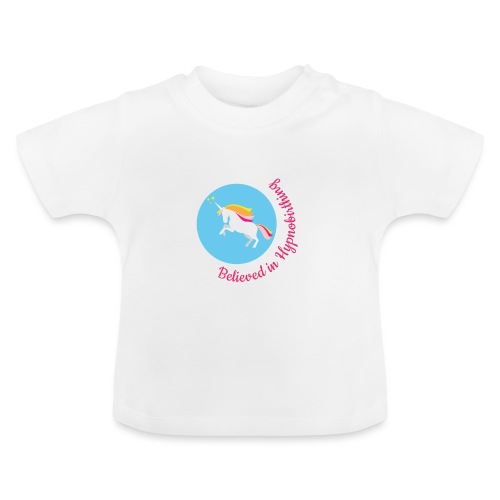 unicorn pink hypnobirth - Baby T-Shirt